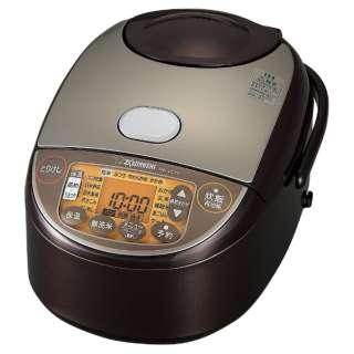 炊飯器 極め炊き ブラウン NW-VC10 [5.5合 /IH]
