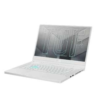 ゲーミングノートパソコン Dash F15 FX516PC ムーンライトホワイト FX516PC-I7R3050W [15.6型 /intel Core i7 /メモリ:16GB /SSD:512GB /2021年8月モデル]