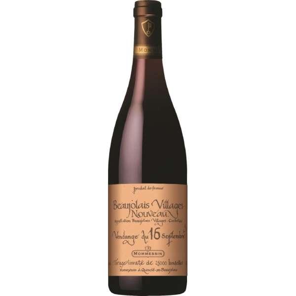 モメサン ボージョレ・ヴィラージュ・ヌーヴォー ヴァンダンジュ 2021 750ml【赤ワイン】
