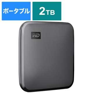 WDBAYN0020BBK-JESN 外付けSSD USB-A接続 WD Elements SE SSD [2TB /ポータブル型]