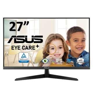 PCモニター Eye Care Plus ブラック VY279HE [27型 /フルHD(1920×1080) /ワイド]