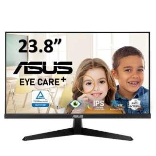 PCモニター Eye Care Plus ブラック VY249HE [23.8型 /フルHD(1920×1080) /ワイド]