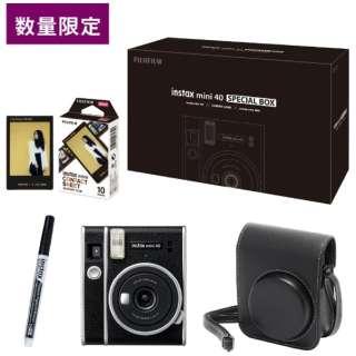 インスタントカメラ『チェキ』instax mini 40 SPECIAL BOX【ECサイト・数量限定】