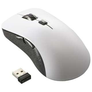 マウス 抗菌 ホワイト PC-SMW21BS5LR-W [BlueLED /無線(ワイヤレス) /5ボタン /USB]
