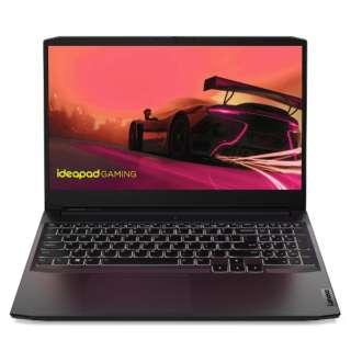 ゲーミングノートパソコン IdeaPad Gaming360 シャドーブラック 82K2008BJP [15.6型 /AMD Ryzen 5 /メモリ:16GB /SSD:512GB /2021年9月モデル]