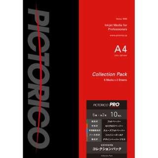ピクトリコプロ・コレクションパック [A4 /10枚](5種x各2枚) PPX3-A4/10