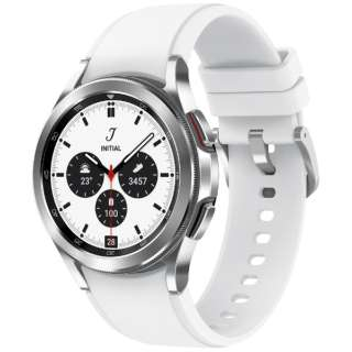 SM-R880NZSAXJP スマートウォッチ Galaxy Watch4 Classic 42mm シルバー