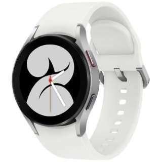 SM-R860NZSAXJP スマートウォッチ Galaxy Watch4 40mm シルバー