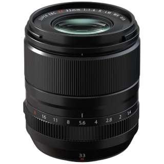 カメラレンズ XF33mmF1.4 R LM WR FUJINON(フジノン) [FUJIFILM X /単焦点レンズ]