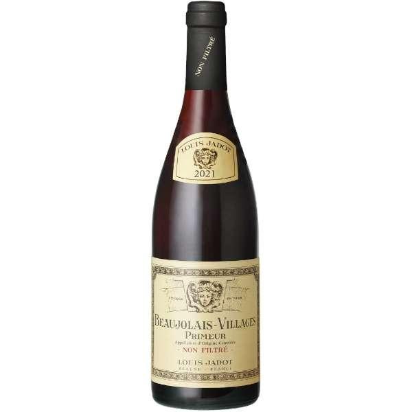 メゾン・ルイ・ジャド ボジョレー・ヴィラージュ・プリムール ノンフィルター 2021 750ml【赤ワイン】