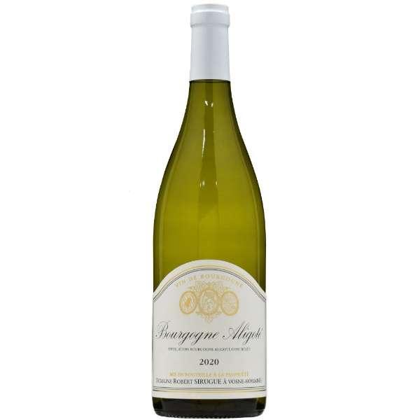 ドメーヌ・ロベール・シリュグ ブルゴーニュ アリゴテ 2020 750ml【白ワイン】