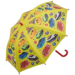 子供用 晴雨兼用 傘手開き45cm トミカ UBSR1 [晴雨兼用傘 /子供用]