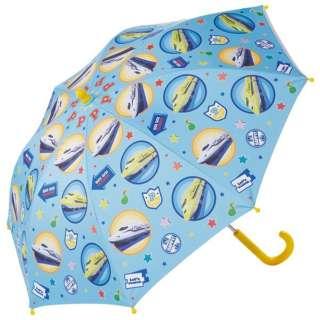 子供用 晴雨兼用 傘手開き45cm プラレール UBSR1 [晴雨兼用傘 /子供用]