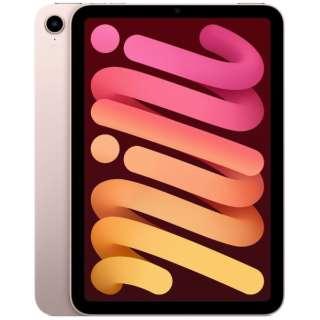 iPad mini(第6世代) A15 Bionic 8.3型 Wi-Fi ストレージ:64GB  MLWL3J/A ピンク