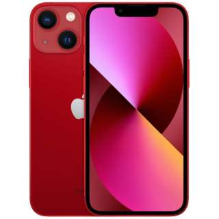 【SIMフリー】iPhone 13 mini A15 Bionic 5.4型 ストレージ:128GB デュアルSIM(nano-SIMとeSIMx2) MLJG3J/A (PRODUCT)RED