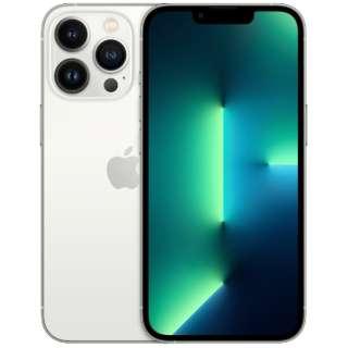 【SIMフリー】iPhone 13 Pro A15 Bionic 6.1型 ストレージ:512GB デュアルSIM(nano-SIMとeSIMx2) MLUW3J/A シルバー