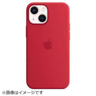 【純正】MagSafe対応 iPhone 13 mini シリコーンケース (PRODUCT)RED MM233FE/A