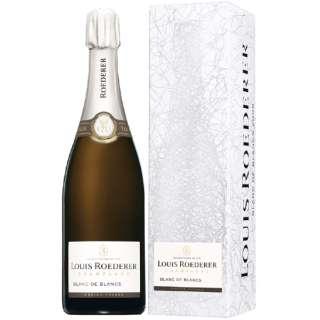 [正規品] ルイ・ロデレール ブラン・ド・ブラン ギフトボックス 750ml【シャンパン】