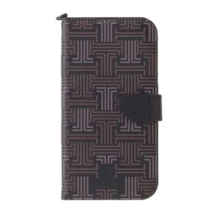LANVIN COLLECTION - Folio Case Signature with Neck Strap for iPhone 2021(6.7inch) [ Black ] LANVIN COLLECTION ランバンコレクション LCSIBLKFLNSIP2167