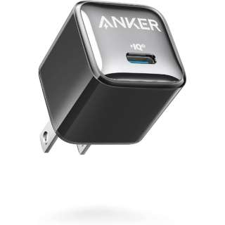 Anker 511 Charger (Nano Pro) Black A2637111 [1ポート /USB Power Delivery対応]