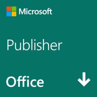 Publisher 2021 日本語版 [Windows用] 【ダウンロード版】