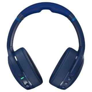 ブルートゥースヘッドホン Crusher Evo(クラッシャーエボ) DARK BLUE/GREEN S6EVW-P750 [リモコン・マイク対応 /Bluetooth]