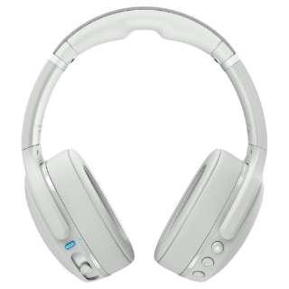 ブルートゥースヘッドホン Crusher Evo(クラッシャーエボ) LIGHT GREY/BLUE S6EVW-P751 [リモコン・マイク対応 /Bluetooth]