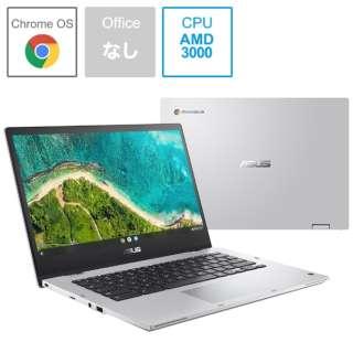 ノートパソコン Chromebook Flip CM1(CM1400) トランスペアレントシルバー CM1400FXA-EC0010 [14.0型 /AMD 3000Ceシリーズ /メモリ:8GB /eMMC:64GB /2021年10月モデル]