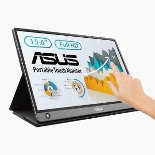 USB-C接続 PCモニター ZenScreen Touch MB16AMT ダークグレー MB16AMT-J [15.6型 /フルHD(1920×1080) /ワイド]
