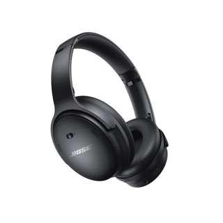 ヘッドホン Bose QuietComfort 45 Headphones Black QuietComfort45BLK [リモコン・マイク対応 /Bluetooth /ノイズキャンセリング対応]
