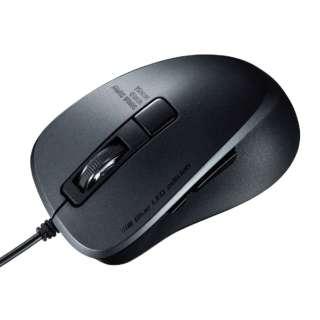 マウス ブラック MA-BLC156BK [BlueLED /有線 /5ボタン /USB (Type-C)]