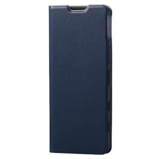 Xperia 5 III/レザーケース/手帳/UltraSlim/薄型/磁石 PM-X214PLFUNV