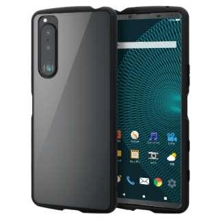 Xperia 5 III/ハイブリッドケース/TOUGHSLIM/フレーム PM-X214TSLFCBK