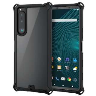 Xperia 5 III/ハイブリッドケース/ZEROSHOCK/フレーム PM-X214ZEROFCBK
