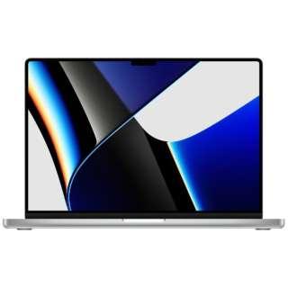 MacBook Pro  16インチ Apple M1 Maxチップ搭載モデル[2021年モデル/SSD 1TB/メモリ 32GB/10コアCPUと32コアGPU ]シルバー MK1H3J/A