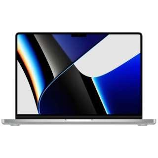 MacBook Pro  14インチ Apple M1 Proチップ搭載モデル[2021年モデル/SSD 512GB/メモリ 16GB/8コアCPUと14コアGPU ]シルバー MKGR3J/A